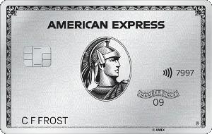 簽帳卡AMEX白金卡