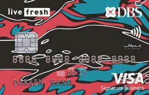 星展銀行_炫晶Live Fresh卡_VISA商務御璽卡