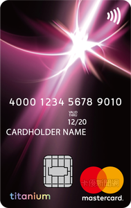 安泰銀行信用卡MasterCard鈦金卡
