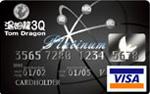 湯姆龍3Q聯名卡VISA白金卡