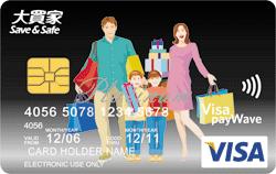大買家油樂聯名卡VISA御璽卡