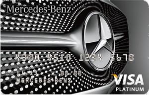Mercedes-Benz信用卡VISA白金卡