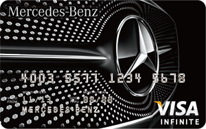 Mercedes-Benz信用卡VISA無限卡