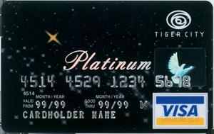 Tiger City 聯名卡VISA白金卡
