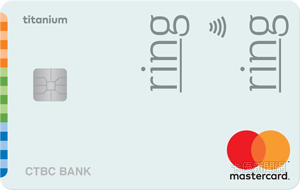 中華電信聯名卡MasterCard鈦金卡