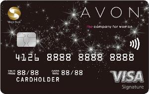 雅芳聯名卡VISA御璽卡