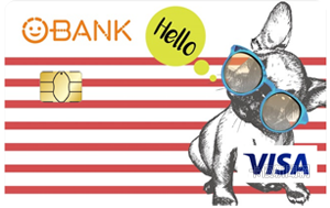 O-Bank簽帳金融卡VISA普卡