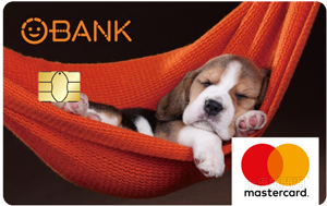 O-Bank簽帳金融卡MasterCard普卡